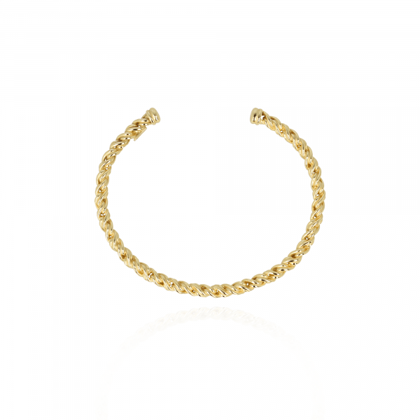 Classic fox chain M bangle