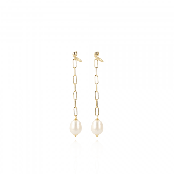 Tara mother earth pearl closed for ever earrings