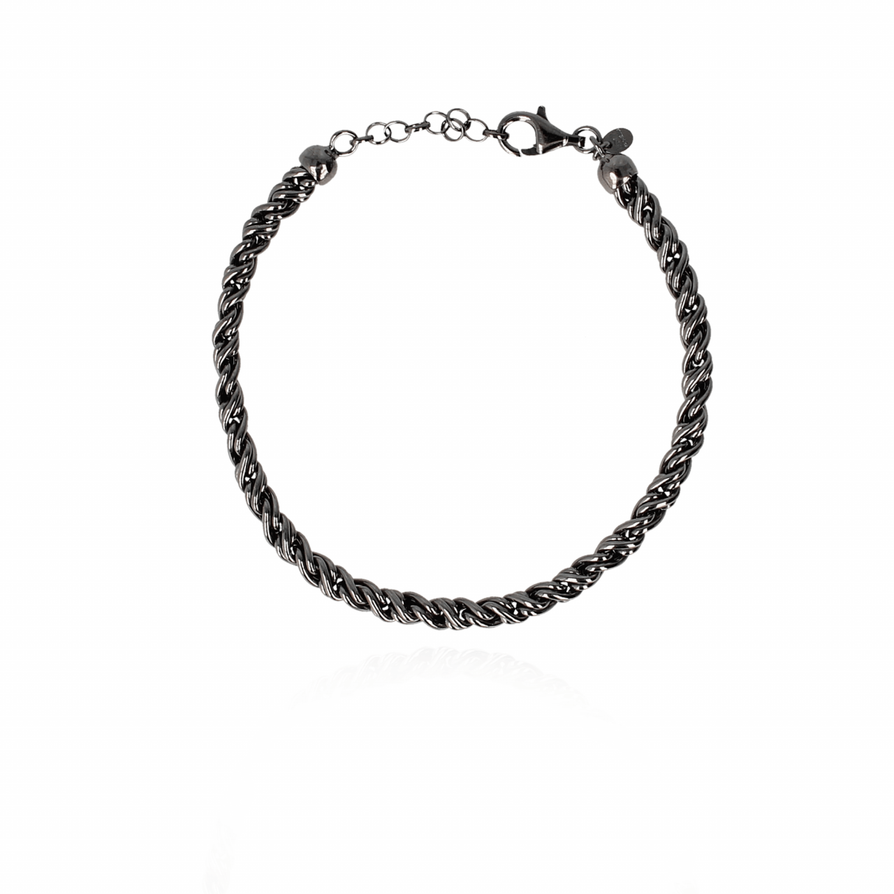 Men Marc Bracelet L Black 21 cm