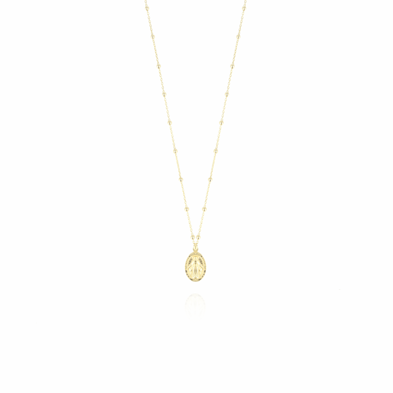 Gouden Rosary Mary ketting