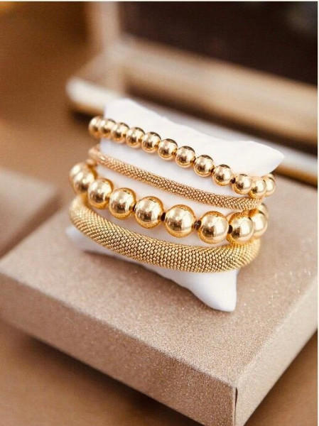 Golden Cannonball L bracelet