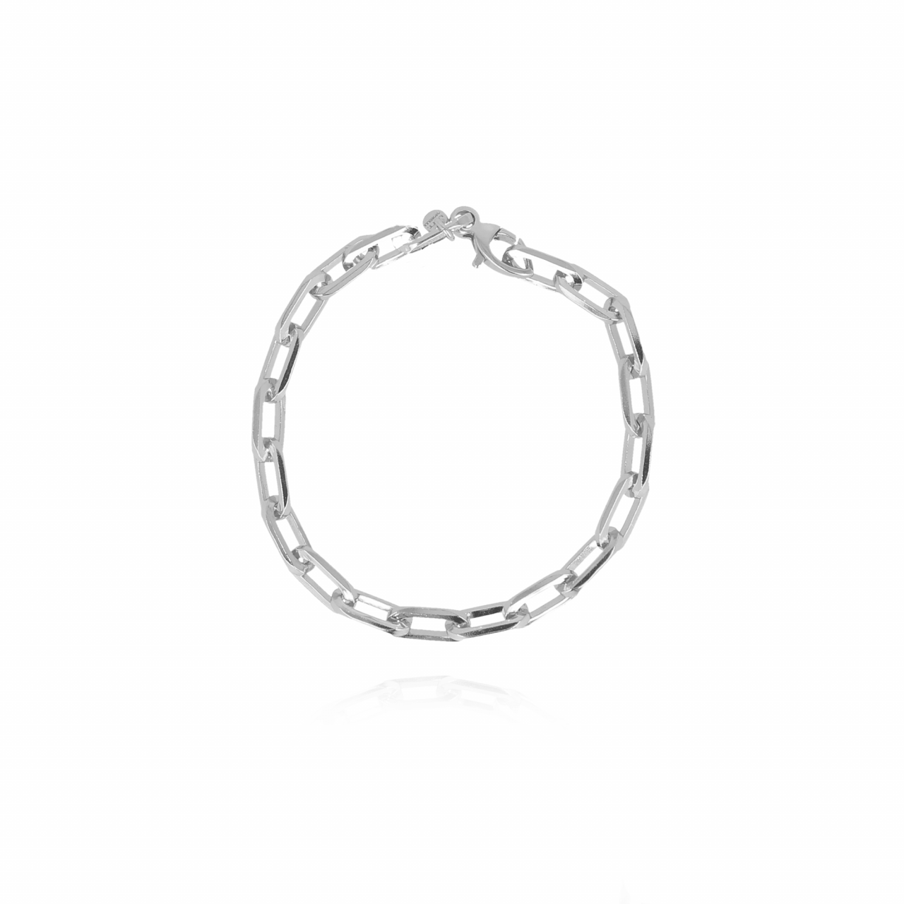 Bracelet collier closed forever S en argent