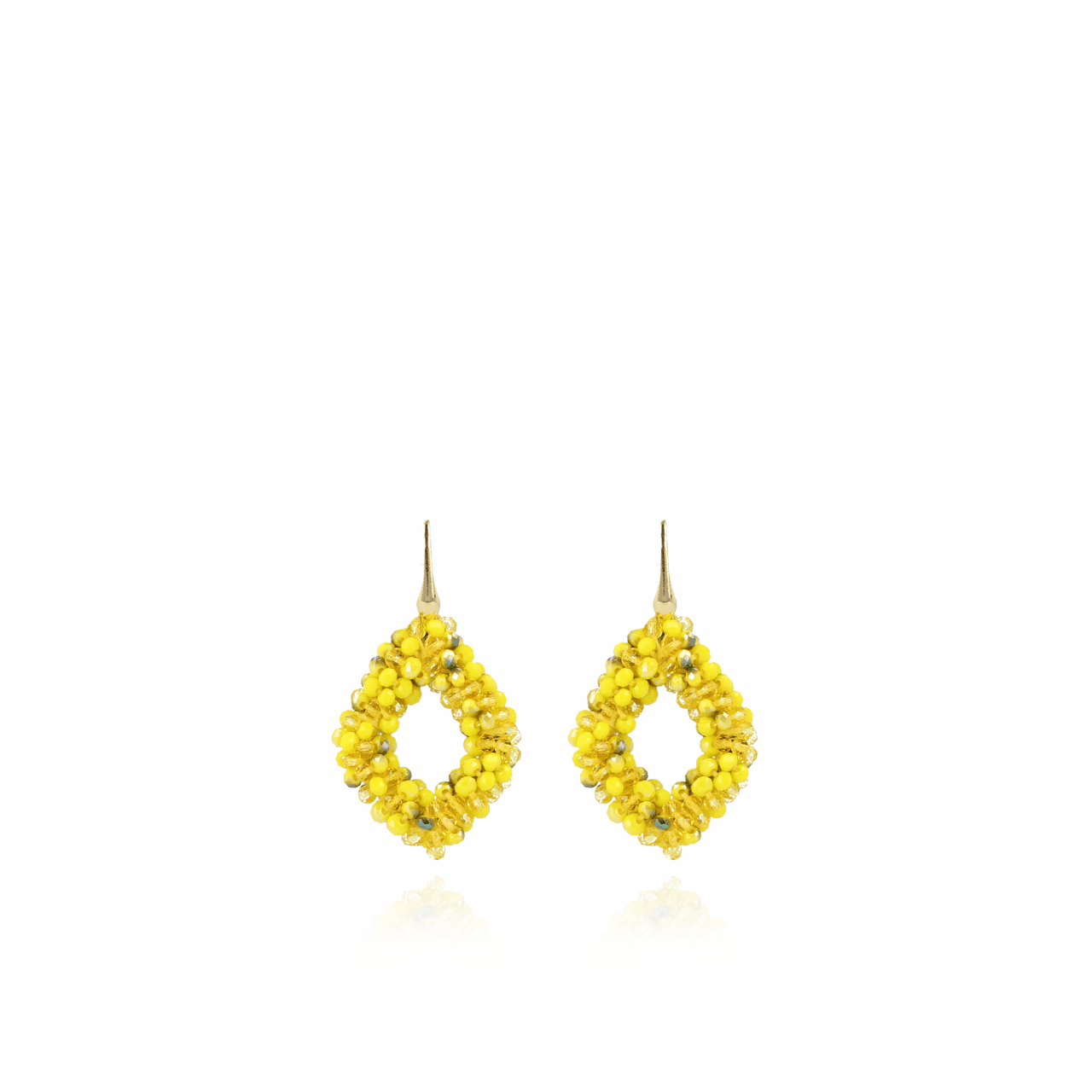 Boucles d'oreilles ace glassberry jaune