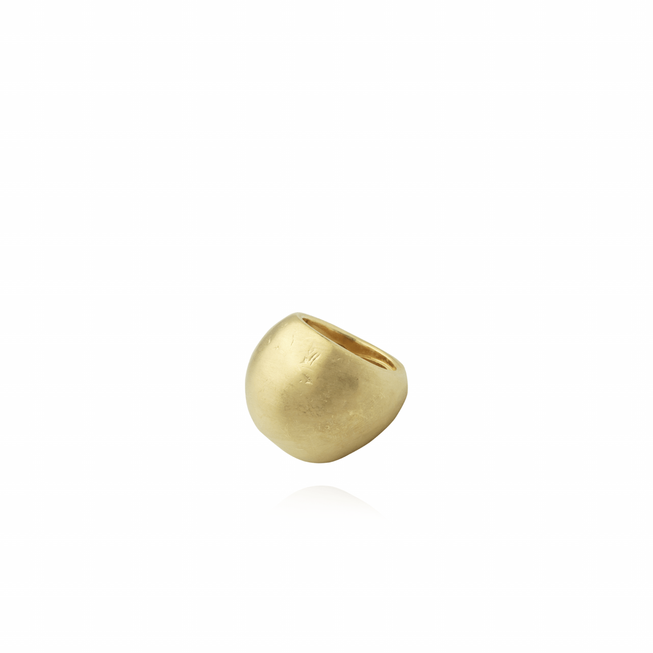 Golden Clay ring