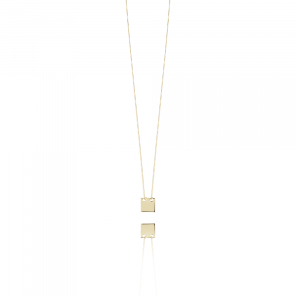 Gouden Square ketting