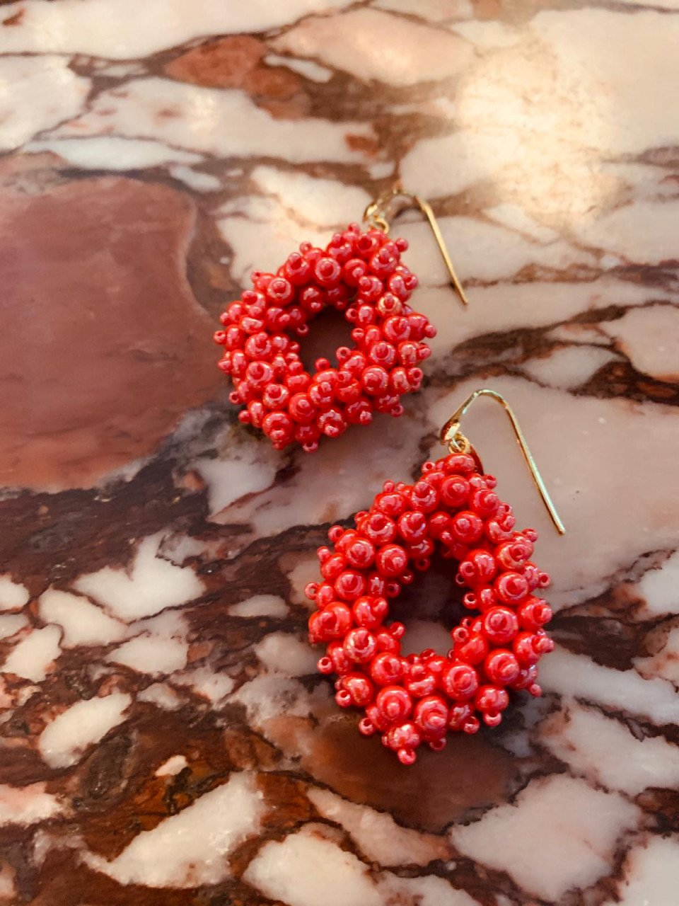Holly Shiny Red Double Stones Glassberry Ace M