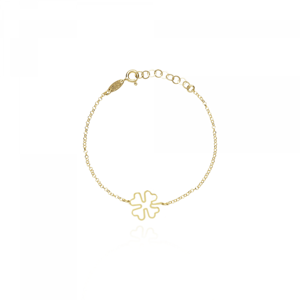 Symbol Clover Open Armband