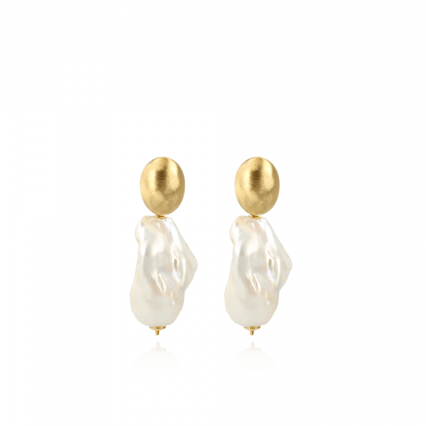 Lauretta classic pearl xxl earrings