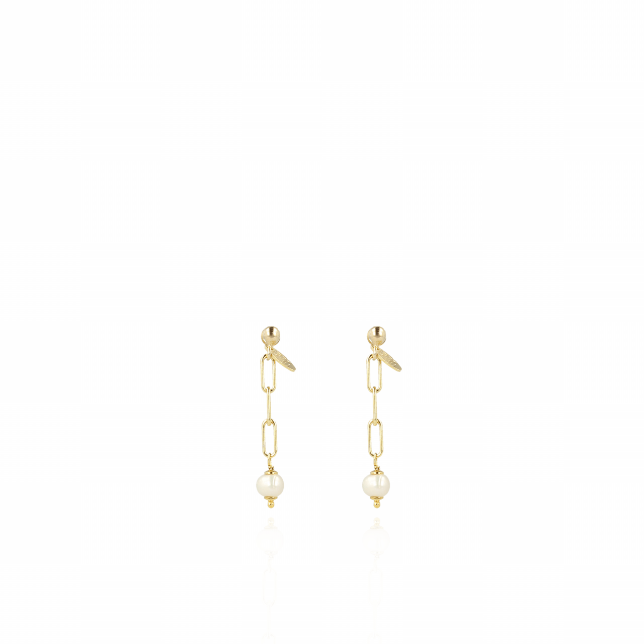 Classic closed forever XXS pearl earrings