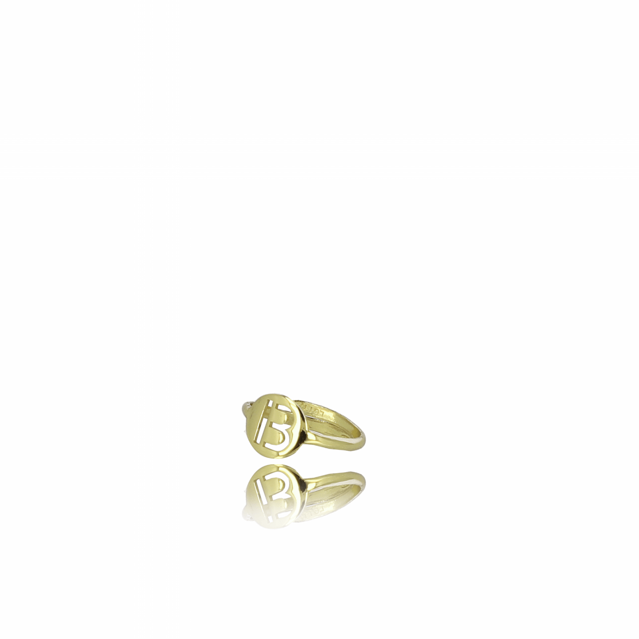 Golden Initial ring