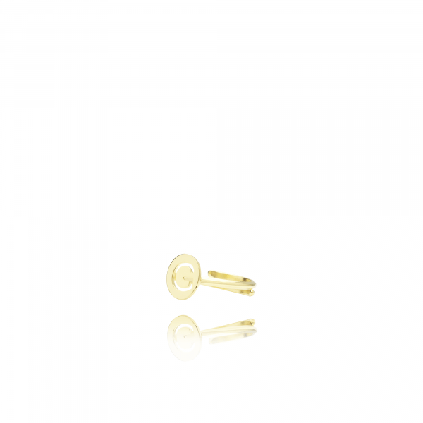 Gouden ring Initial Small