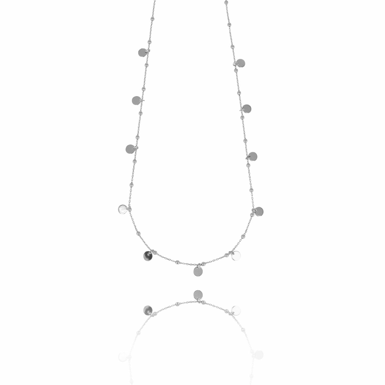 Zilveren Rosary Charms ketting