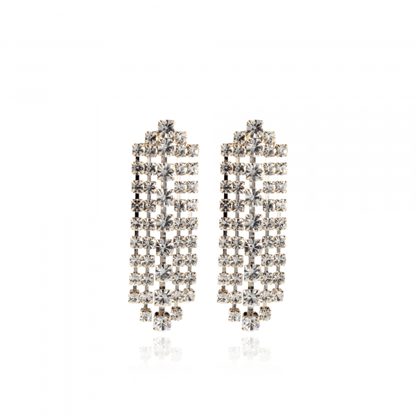 Eva Swarovski Waterfall Earring Moonlight
