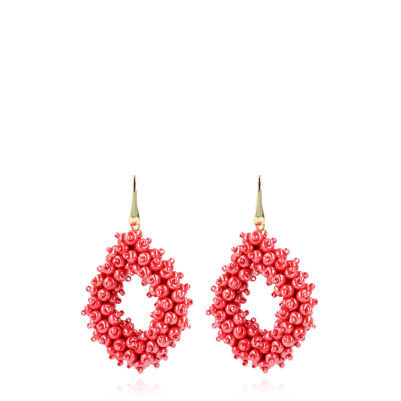 Holly Shiny Red Double Stones Glassberry Ace L