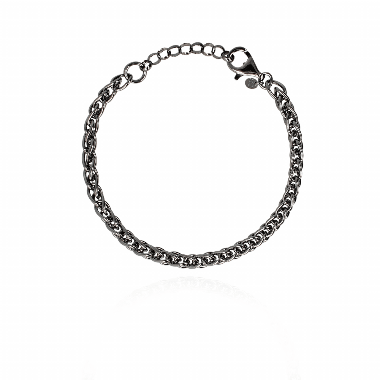 Men Jack Bracelet L Black 21 cm
