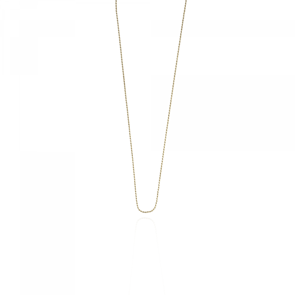 Classic twisted XS necklace