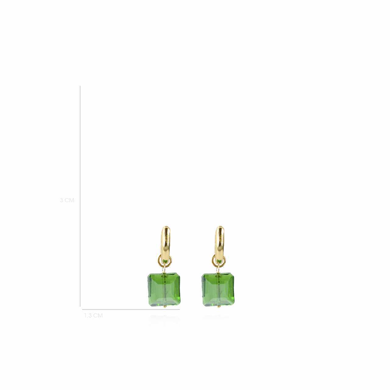 Farah Quartz Square Green S