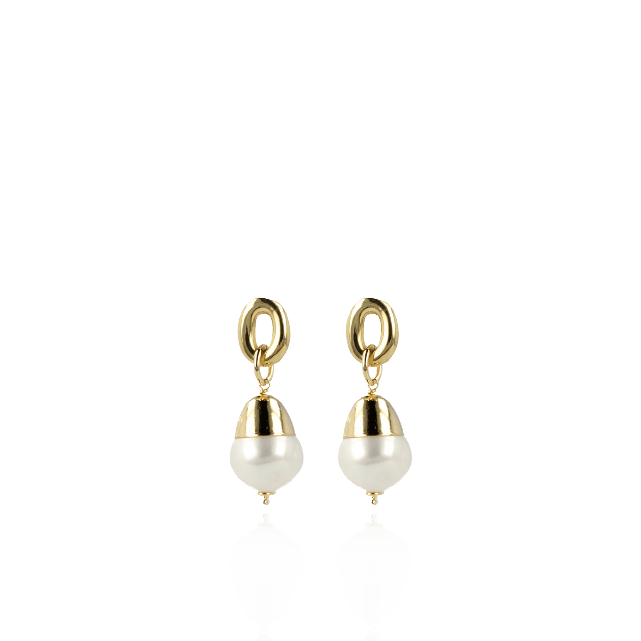 Limited pearl earrings classic