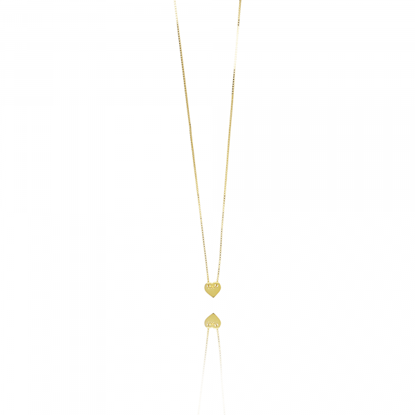 Golden Heart Small necklace