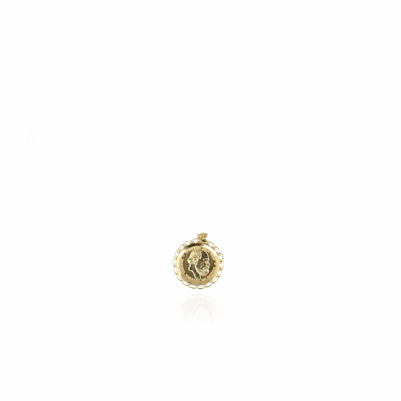 Vintage Coin Pendent Gold
