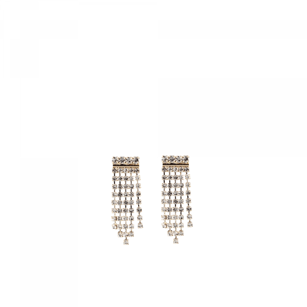 Maria Swarovski Waterfall Earring Crystal
