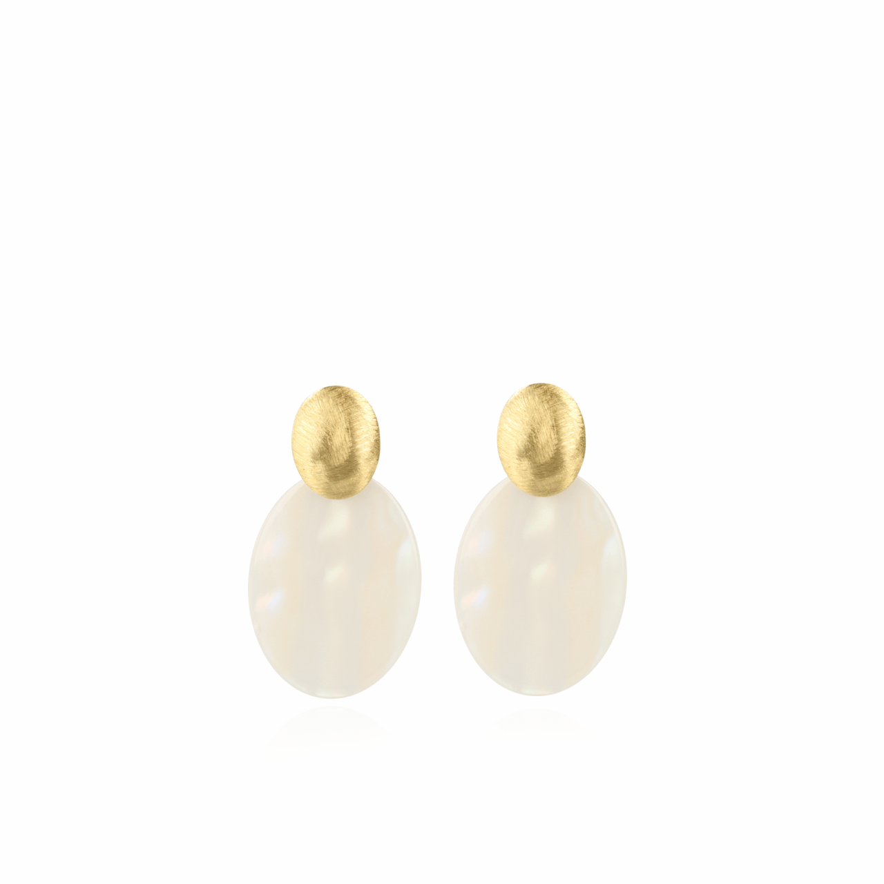 Resin Closed Oval S Pearl